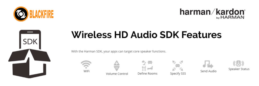 HARMAN and Blackfire announce dev kit for wireless HD audio