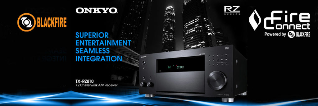 Onkyo Adds AVRs With Google Cast, Tidal, Wireless Multiroom