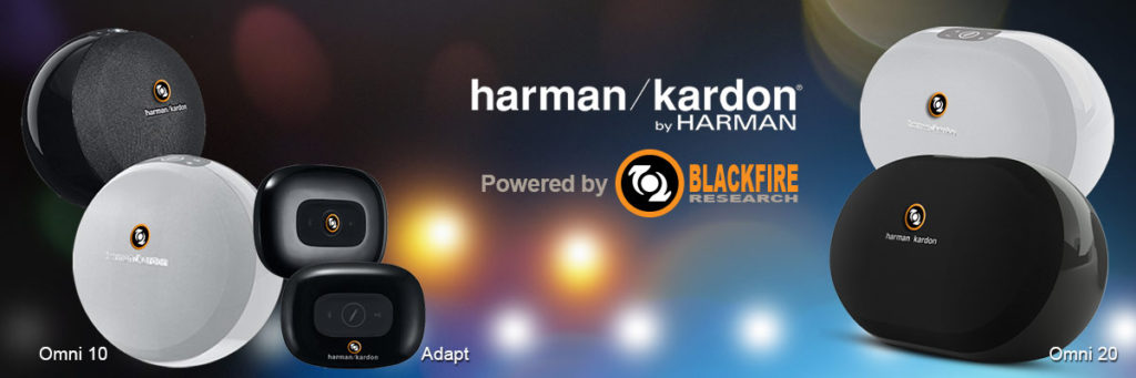 Blackfire Powers New Generation of Harman Kardon High-Res Speakers