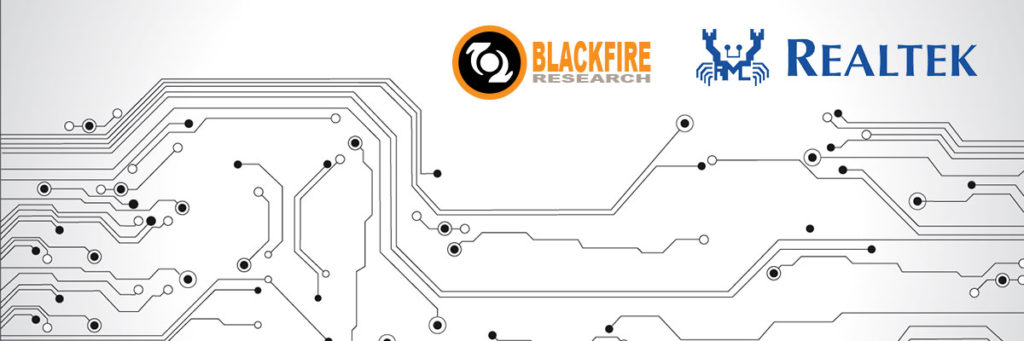Blackfire Research Announces Partnership with Chip Solution Provider Realtek