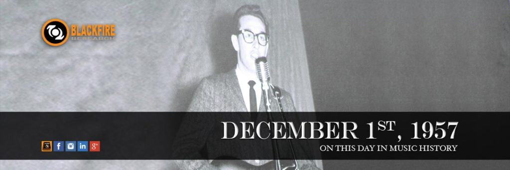 Throwback Thursday: Buddy Holly & The Crickets Go On The Ed Sullivan Show
