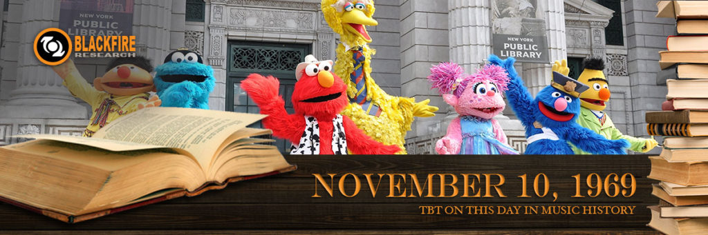 Throwback Thursday: Sesame Street Debuts on PBS
