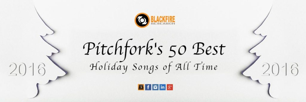 "Pitchfork's ""50 Best Holiday Songs of All Time"""