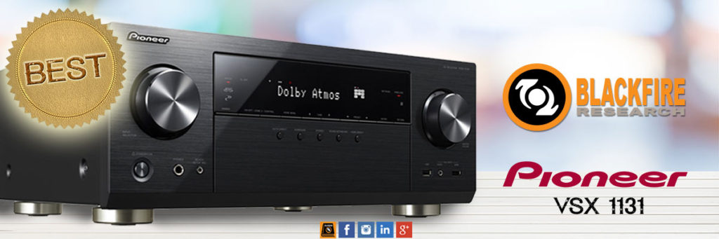 The Pioneer VSX-1131 AV Receiver is Named One of 2016's Best