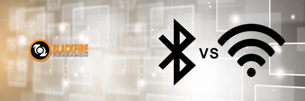 WiFi VS. Bluetooth