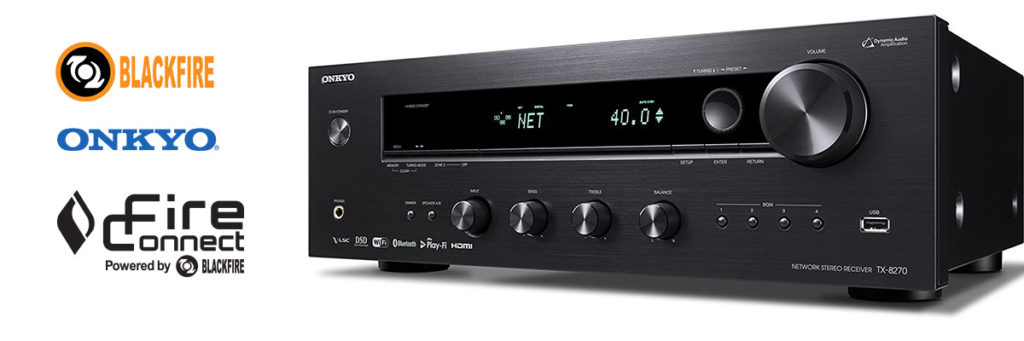 Onkyo TX-8270 Featuring FireConnect Tops Best Stereo Receiver List