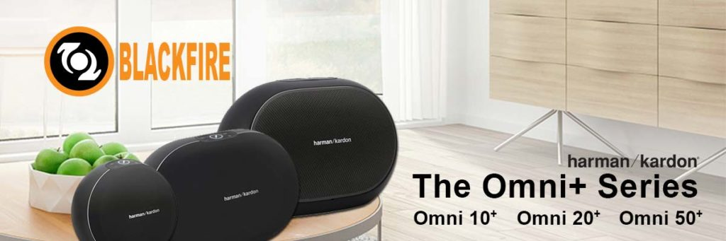 The New Harman/Kardon Omni+ Wireless Speakers Featuring Blackfire